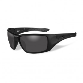Wiley X Nash Sunglasses - Smoke Grey Lens - Matte Black Frame - Black Ops