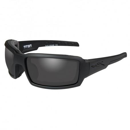Wiley X Titan Sunglasses - Smoke Grey Lens - Matte Black Frame