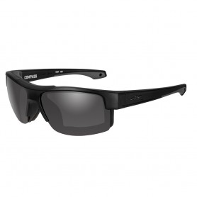 Wiley X Compass Sunglasses - Grey Lens - Matte Black Frame - Black Ops