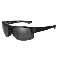 Wiley X Compass Sunglasses - Grey Lens - Matte Black Frame
