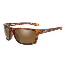 Wiley X Kingpin Sunglasses - Brown Lens - Matte Demi Frame