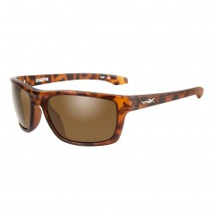 Wiley X Kingpin Sunglasses - Brown Lens - Matte Demi Frame