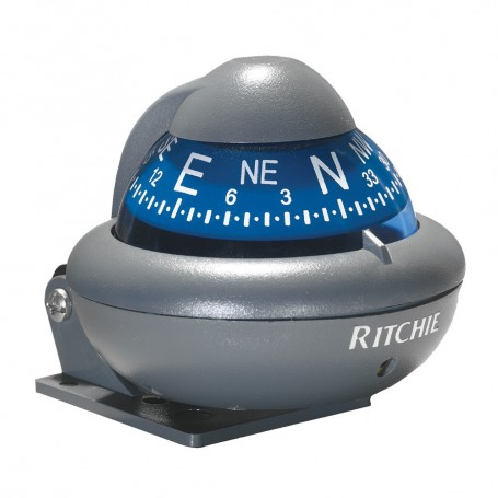 Ritchie X-10-A RitchieSport Automotive Compass - Bracket Mount - Gray
