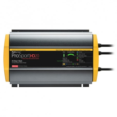 ProMariner ProSportHD 20 Global Gen 4 - 20 Amp - 2 Bank Battery Charger