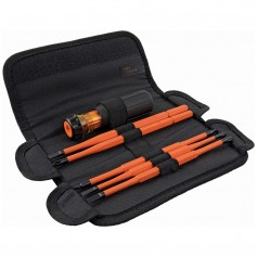 Klein Tools 8-in-1 Insulated Interchangeable Screwdriver Set