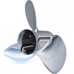 Turning Point Express OS Mach3 Left Hand Stainless Steel Propeller - OS-1627-L - 3-Blade - 15-6- x 27-