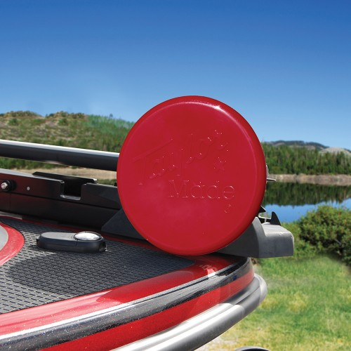 Taylor Made Trolling Motor Propeller Cover- 3-Blade Cover - 10-- Red