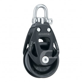 Harken 60mm Single Aluminum Element Block w-Swivel