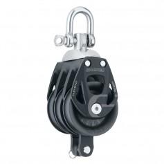 Harken 60mm Triple Aluminum Element Block w-Swivel Becket