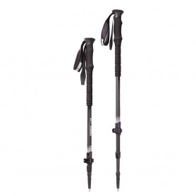 YUKON Carbon Lite Trekking Poles - Black