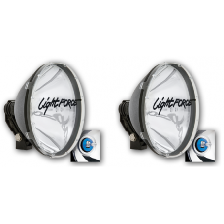 Lightforce Blitz 240 CBHID240T70 70W HID Super Powerful Driving Light Twin Pack