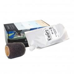 KiwiGrip 1 Liter Pouch - Grey w-4- Roller