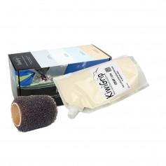 KiwiGrip 1 Liter Pouch - Cream w-4- Roller
