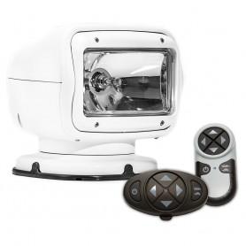 Golight Radioray GT Series Permanent Mount - White Halogen - Wireless Handheld Wireless Dash Mount Remotes