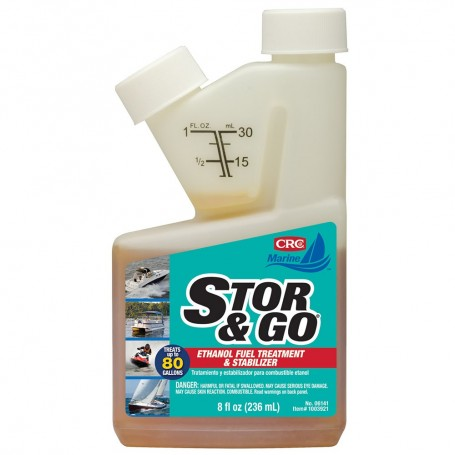 CRC Stor Go Ethanol Fuel Treatment Stabilizer - 8oz - -06141