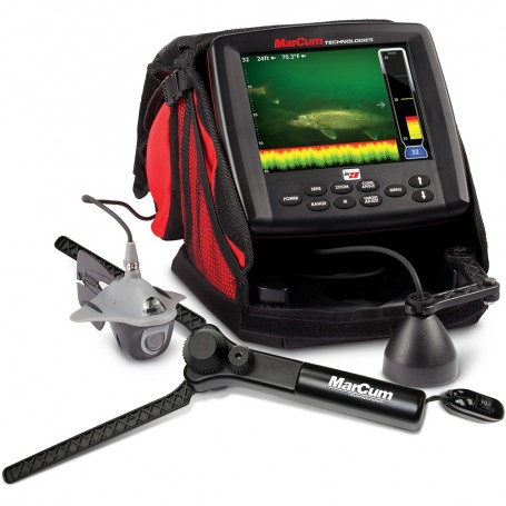 MarCum LX-9 Digital Sonar-Camera System - 8- LCD Dual Beam w-OSD Camera