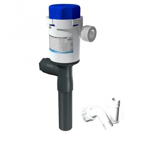 Albin Pump Cartridge Aerator Pump - 750 GPH - 12V - Straight