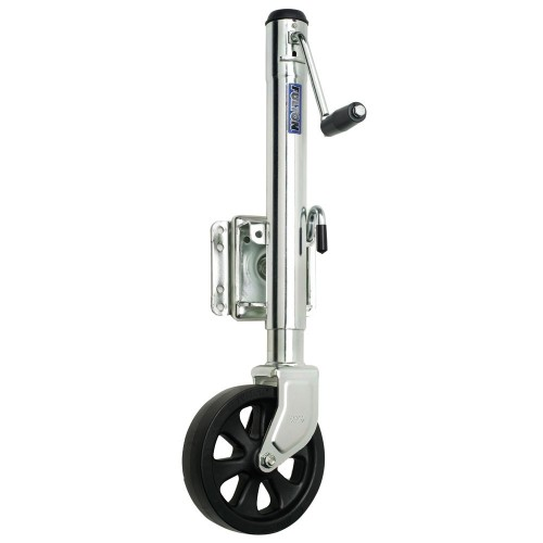 Fulton Single Wheel 1-500 lbs- Bolt-Thru Swivel Jack