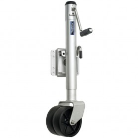 Fulton Dual Wheel 1-500 lbs- Bolt-Thru Swivel Jack