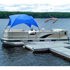 Taylor Made Pontoon Easy-Up Shade Top - Pacific Blue
