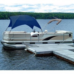Taylor Made Pontoon Easy-Up Shade Top - Navy