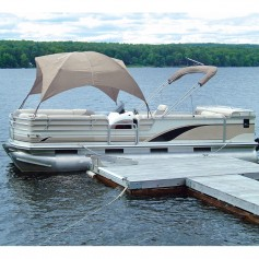 Taylor Made Pontoon Gazebo - Sand