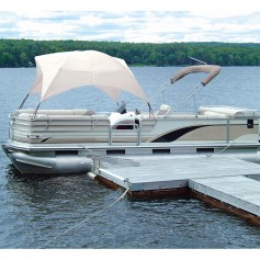 Taylor Made Pontoon Easy-Up Shade Top - White