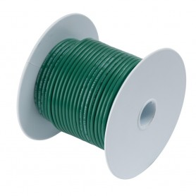 Ancor Tinned Copper Wire - 6 AWG - Green - 25