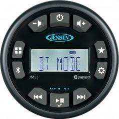 JENSEN 3- JMS3RTL Bluetooth AM-FM-WB-USB Waterproof Stereo - Black