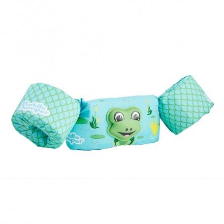 Puddle Jumper Kids Life Jacket - 3D Frog - 30-50lbs