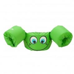 Puddle Jumper Kids Life Jacket - Green Smile - 30-50lbs