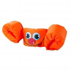 Puddle Jumper Kids Life Jacket - Orange Smile - 30-50lbs