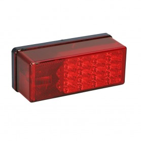 Wesbar 3- x 8- Waterproof LED 7-Function- Right-Curbside Tail Light