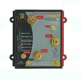 Sterling ProSplit-R Zero Volt Drop Marine Battery Isolator (12V, 180 Amp)