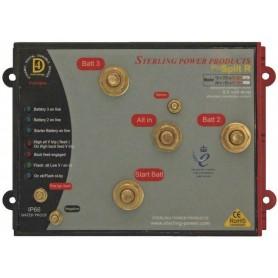 Sterling ProSplit-R Zero Volt Drop Marine Battery Isolator (12V, 250 Amp,3 Bank)