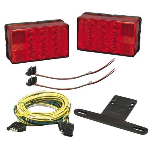 Wesbar 4- x 6- LED Trailer Light Kit