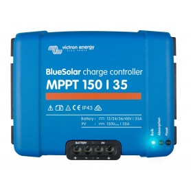 Victron Blue Solar MPPT 150/35 35 Amp Solar Charge Controller FEDEX 2Day Air
