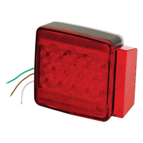 Wesbar Under 80- Submersible LED 6-Function Right-Curbside Trailer Light