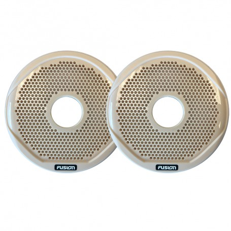 FUSION MS-FR6GBG - 6- Grill Covers - Beige f-FR-Series Speakers