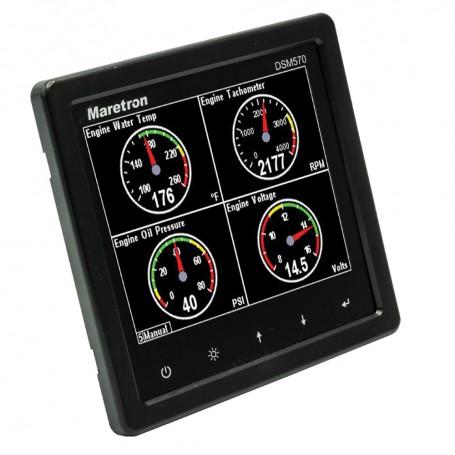 Maretron DSM570 5-7- High Resolution Color Display w-Black Enclosure