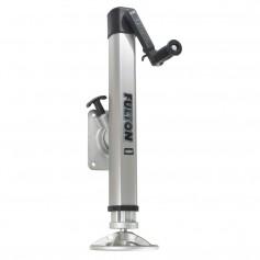 Fulton F2 Trailer Jack Bolt-On 2-000 lbs- Lift Capacity Adjustable Swivel w-Footplate