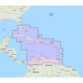 Furuno Bahamas- Caribbean Bermuda - Vector Chart- 3D Data Standard Resolution Satellite Photos - Unlock Code