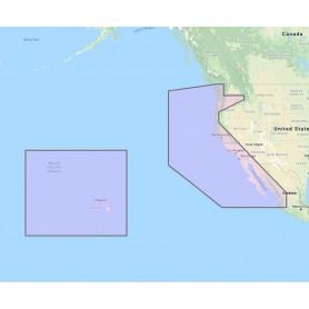 Furuno U-S- West Coast- Hawaii Baja Mexico - Vector Chart- Standard Resolution Satellite Photos f-Baja Mexico - Unlock Code