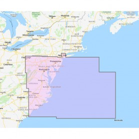 Furuno U-S- East Mid-Atlantic Canyons Chart Pack - Vector Chart- 3D Data- Satellite Photos - Unlock Code