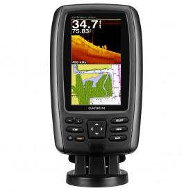 Garmin echoMAP 44dv U-S- Offshore Fishfinder-GPS Combo w-BlueChart g2 77-200 HD-ID-DownV Transducer - Brown Box
