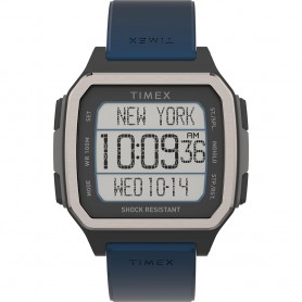 Timex Command Urban 47mm - Black Case w-Blue Strap