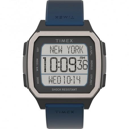 Timex Command Urban 47mm - Black Case w-Blue Strap