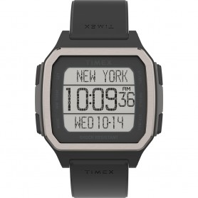 Timex Command Urban 47mm - Black Case w-Black Strap