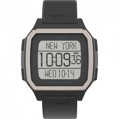 Timex Command Urban 47mm - Black Case w-Black Strap