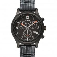 Timex Allied LT Chrono 42mm - Black Case w-Black Camo Dial